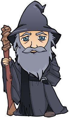 Gandalf clipart #7, Download drawings