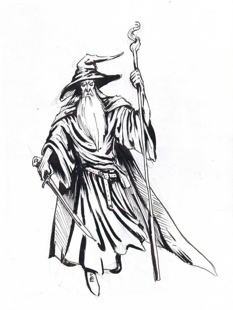 Gandalf clipart #5, Download drawings