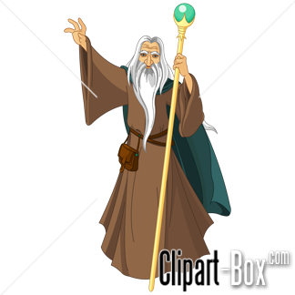 Gendalf clipart #2, Download drawings