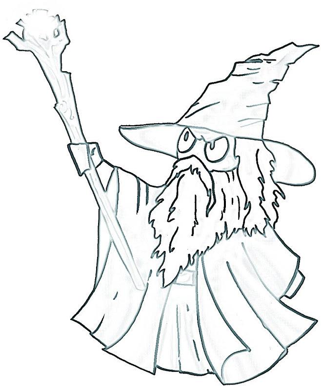 Gendalf coloring #13, Download drawings
