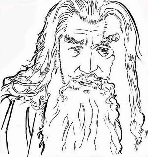 Gendalf coloring #11, Download drawings