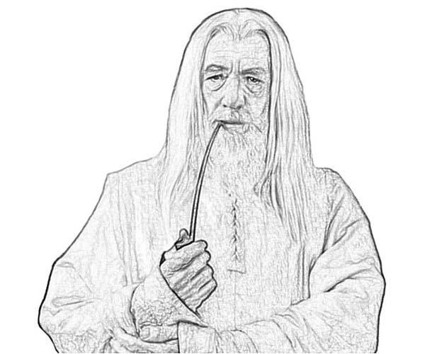 Gendalf coloring #10, Download drawings