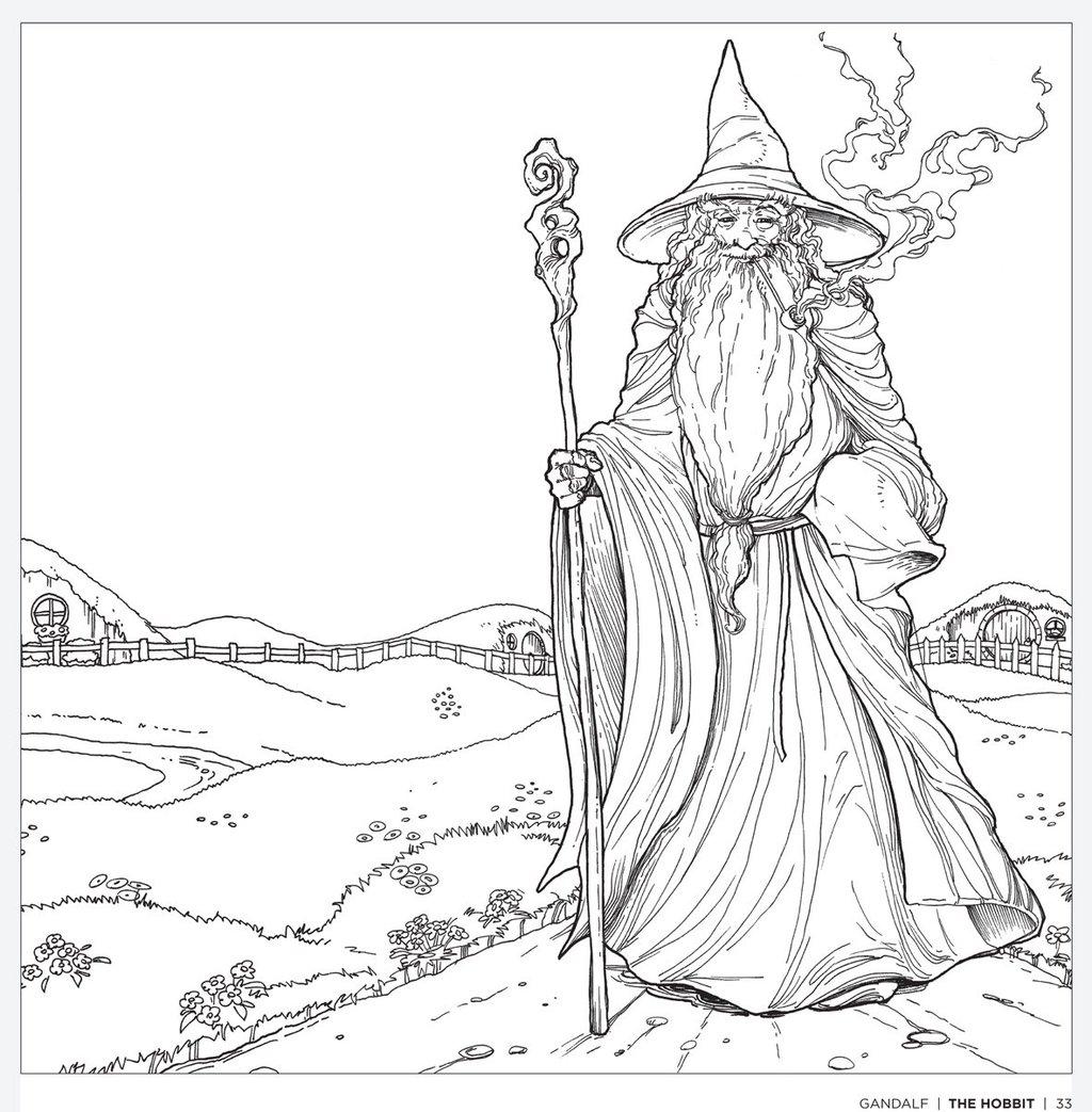 Gendalf coloring #6, Download drawings