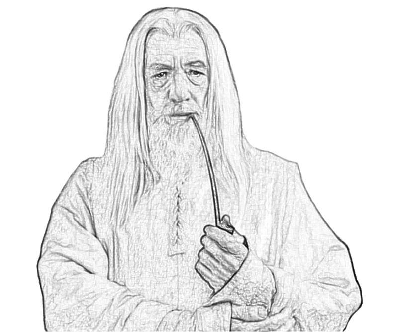 Gendalf coloring #5, Download drawings