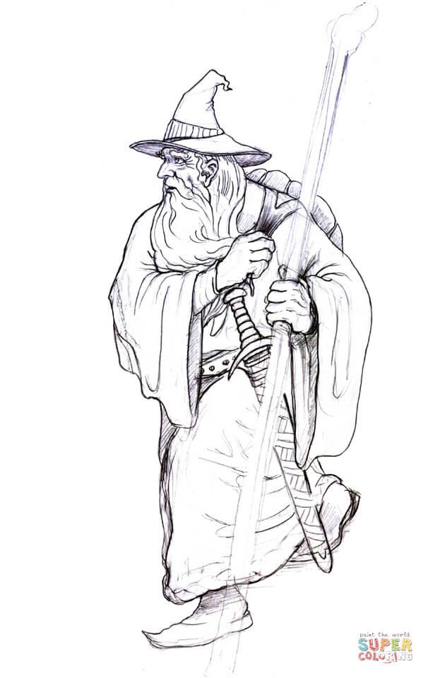 Gendalf coloring #8, Download drawings