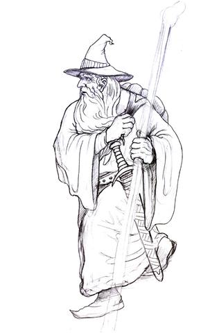 Gendalf coloring #9, Download drawings