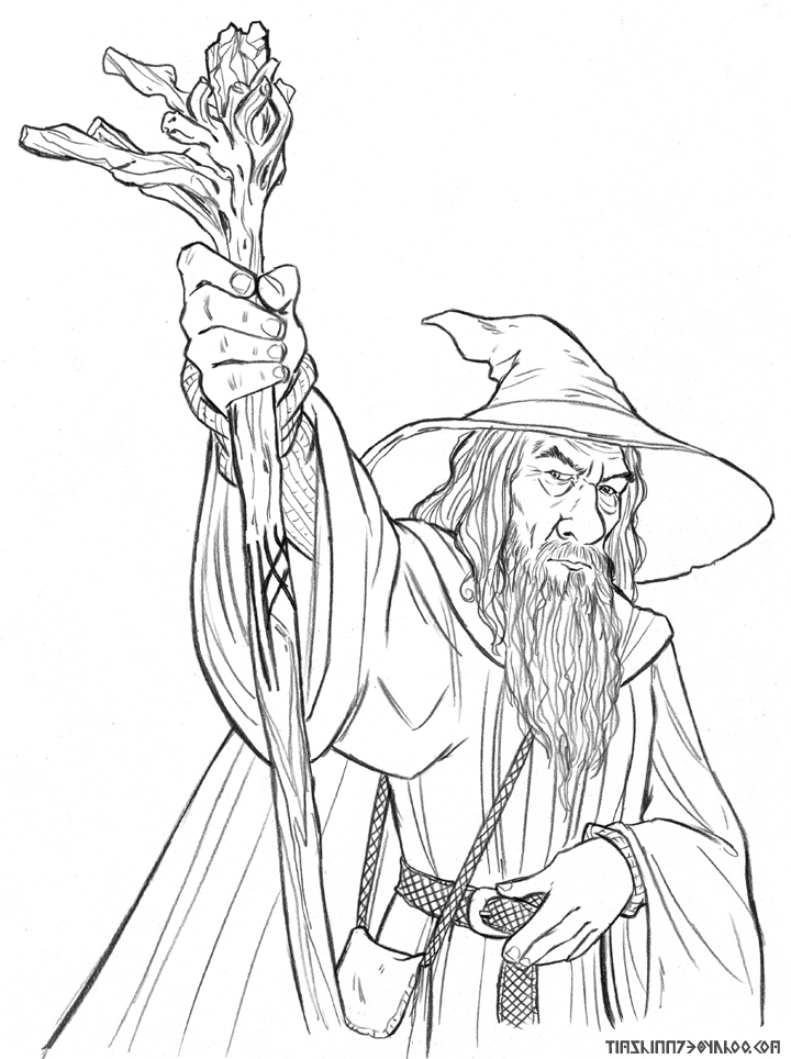 Gendalf coloring #19, Download drawings