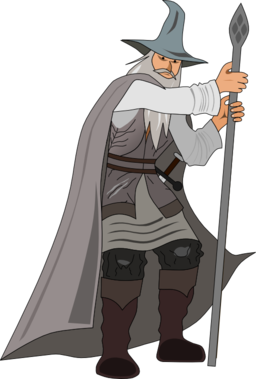 Gandalf svg #8, Download drawings