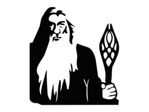 Gandalf svg #18, Download drawings