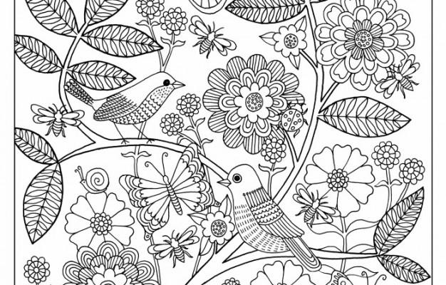 Garden coloring #13, Download drawings