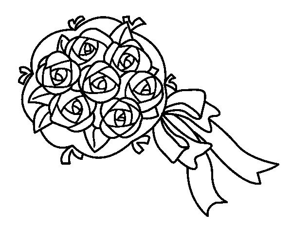 Gardenia coloring #7, Download drawings