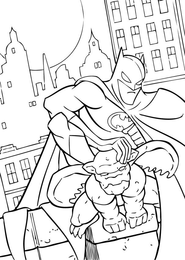 Gargoyle coloring #3, Download drawings