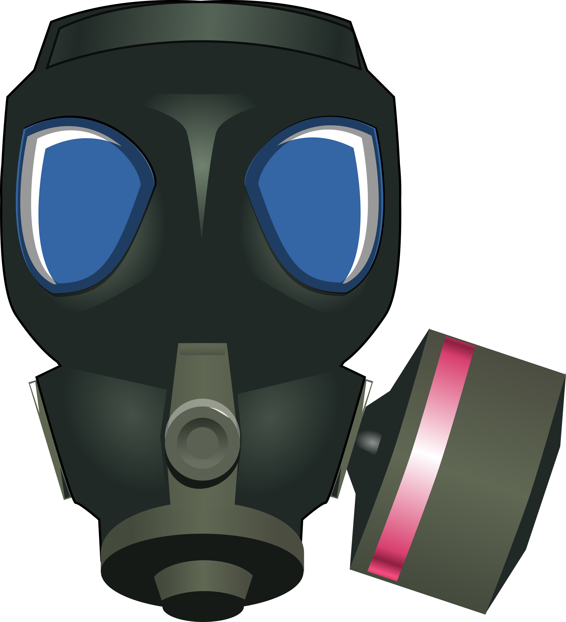 Gas Mask clipart #6, Download drawings