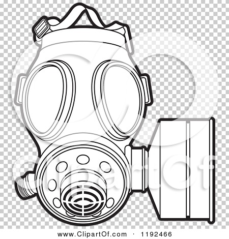 Gas Mask coloring #19, Download drawings