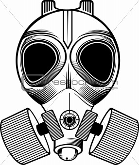 Gas Mask coloring #9, Download drawings