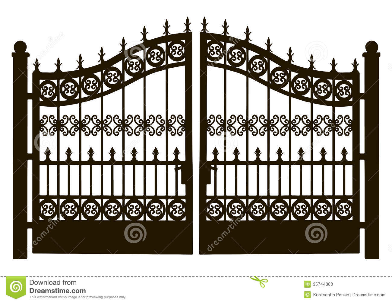 Gate clipart #13, Download drawings