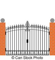 Gate clipart #17, Download drawings