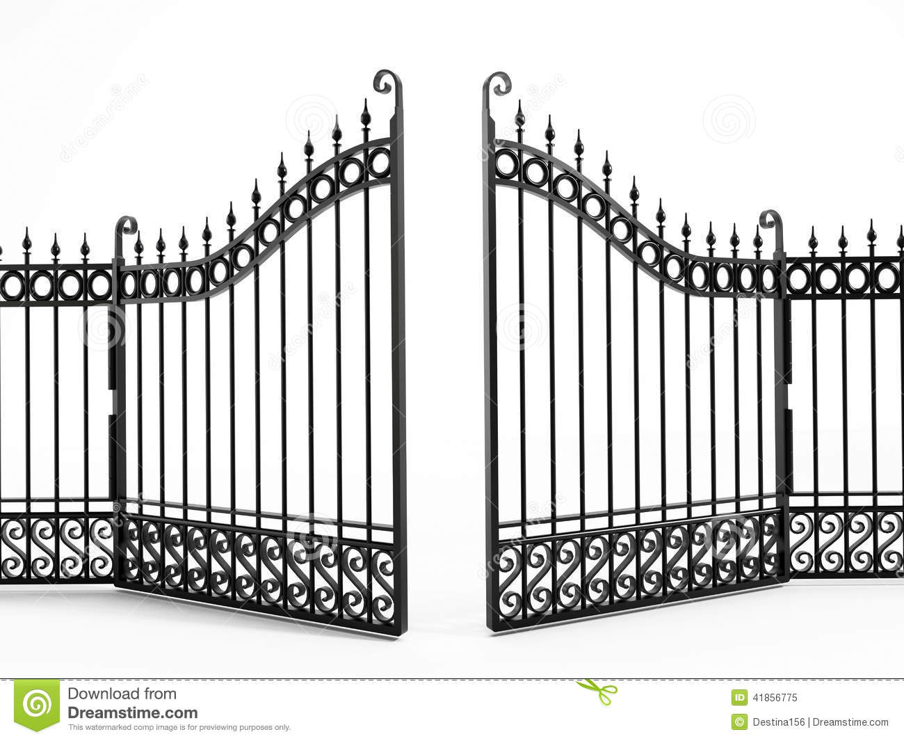 Gate clipart #7, Download drawings