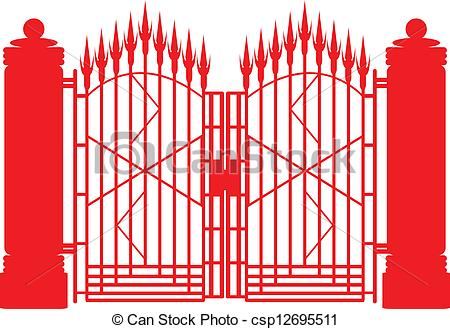 Gate clipart #2, Download drawings