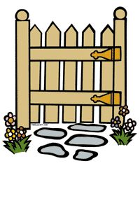 Gate clipart #14, Download drawings