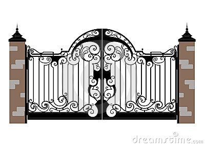 Gate clipart #18, Download drawings