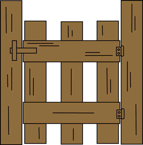 Gate clipart #20, Download drawings