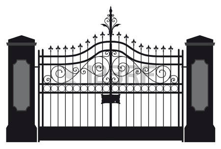 Gate clipart #15, Download drawings