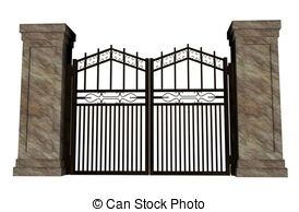 Gate clipart #19, Download drawings
