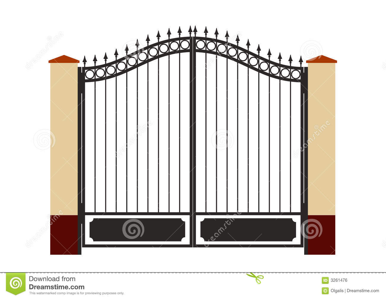 Gate clipart #16, Download drawings