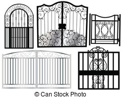 Gate clipart #4, Download drawings