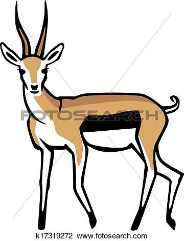 Gazelle clipart #10, Download drawings