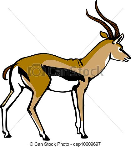 Gazelle clipart #11, Download drawings