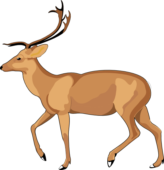 Gazelle clipart #2, Download drawings