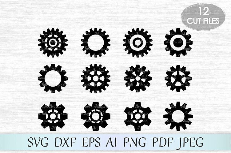 gear svg #1143, Download drawings