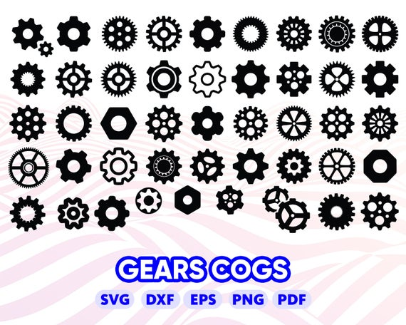 gear svg #1137, Download drawings