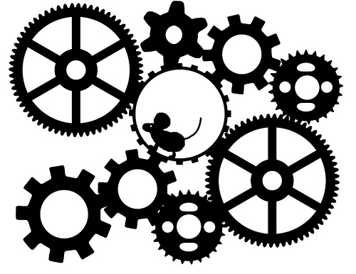 Gears clipart #1, Download drawings