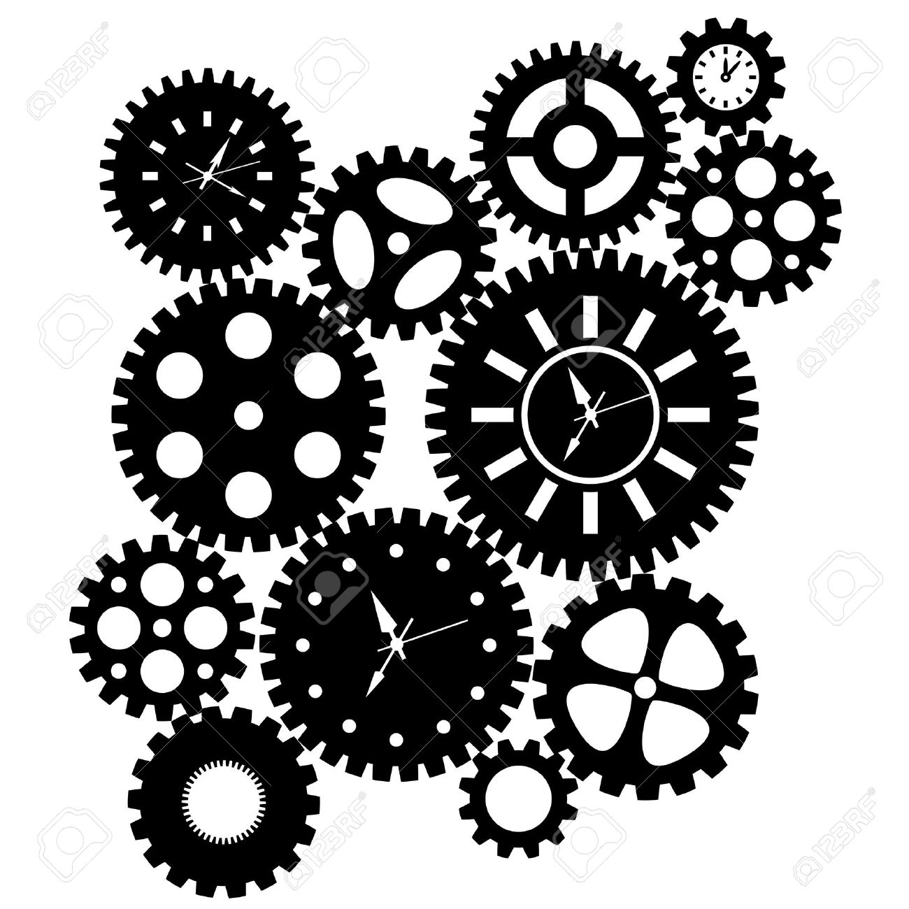 Gears clipart #10, Download drawings
