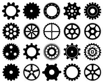 Gears clipart #12, Download drawings