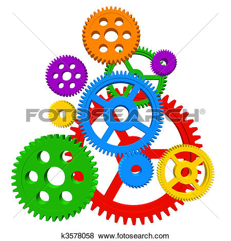 Gears clipart #9, Download drawings