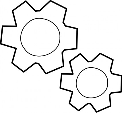 Gears clipart #3, Download drawings