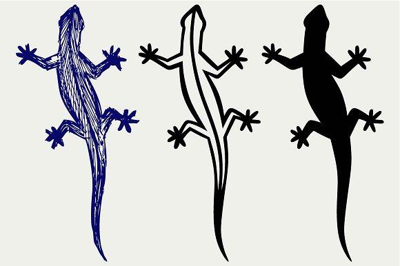 Gecko svg #9, Download drawings