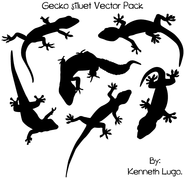 Gecko svg #12, Download drawings