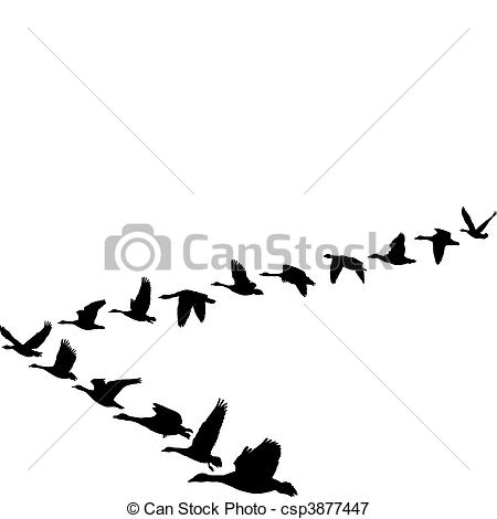 Geese Migration clipart #12, Download drawings