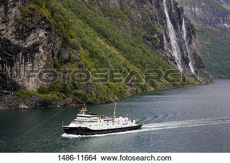 Geirangerfjord clipart #2, Download drawings