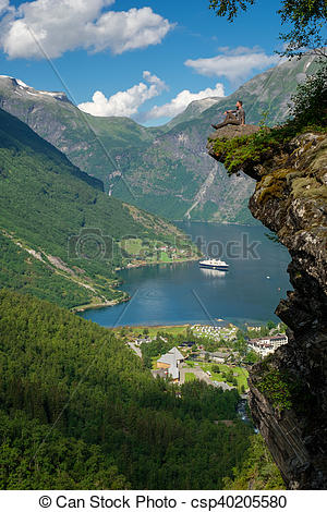 Geirangerfjord clipart #7, Download drawings