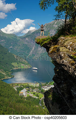 Geirangerfjord clipart #9, Download drawings
