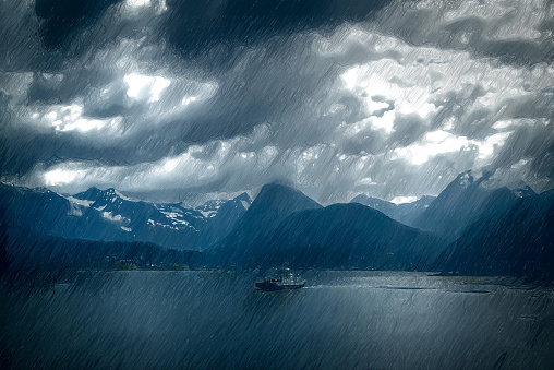 Geirangerfjord clipart #8, Download drawings