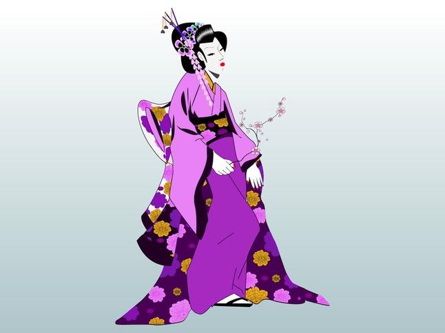 Geisha svg #6, Download drawings