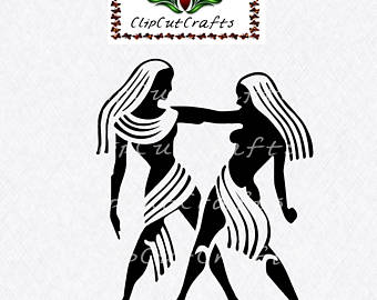 Gemini (Astrology) svg #13, Download drawings