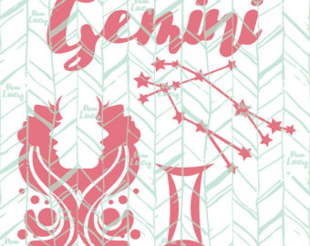 Gemini (Astrology) svg #11, Download drawings